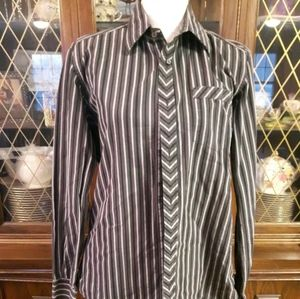 Mexx dress shirt striped semi-slim fit Size L